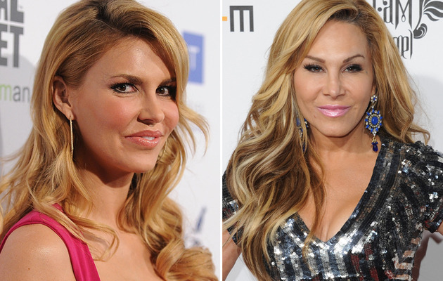 "Brandi Glanville: Seeing Adrienne Maloof Was ""Uncomfortable"""