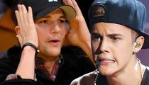 Ashton Kutcher -- 12-Year-Old Swatter ... Yup, I Did It