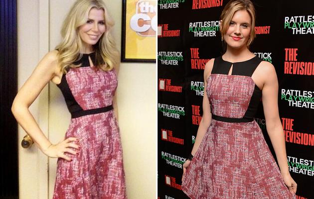 Dueling Dresses: Aviva Drescher vs. Maggie Grace!