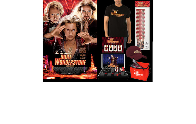 """You Can Win A """"The Incredible Burt Wonderstone Prize Pack!"""""""