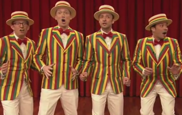 "Justin Timberlake Brings ""SexyBack"" with Jimmy Fallon!"