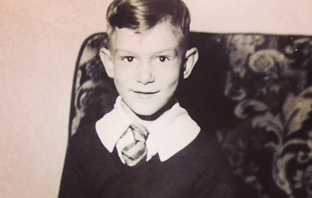 Throwback Thursday: See Hugh Hefner as a Little Boy!