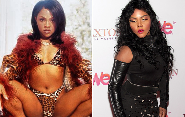 Big Changes to Lil Kim's Face
