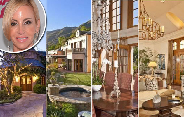 Camille Grammer Slashes Price on Malibu Mansion!