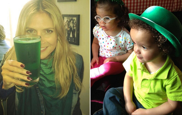 Celebrity TwitPics -- St. Patrick's Day Party Pics!