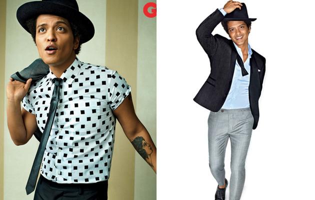 Bruno Mars Covers GQ, Talks Sex, Drugs & Making Music!