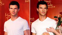 Taylor Lautner -- My Abs Are Waxed Too!