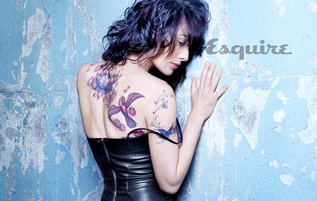 """Game of Thrones"" Star Lena Headey Shows Off Her Tattoos"