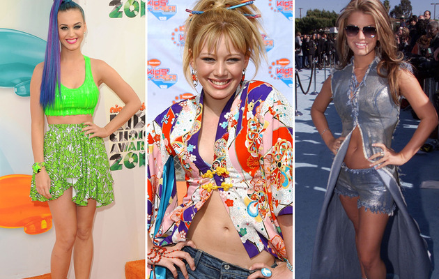 The Worst Dressed Stars of Kids' Choice Awards Past!