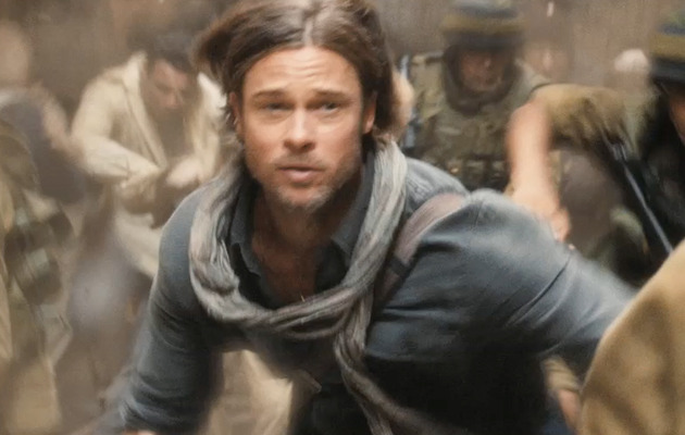 """World War Z"" Trailer -- Now with Zombies On a Plane!"