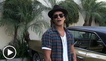 Bruno Mars -- I Gotta Have Wet Wipes ... On the Road