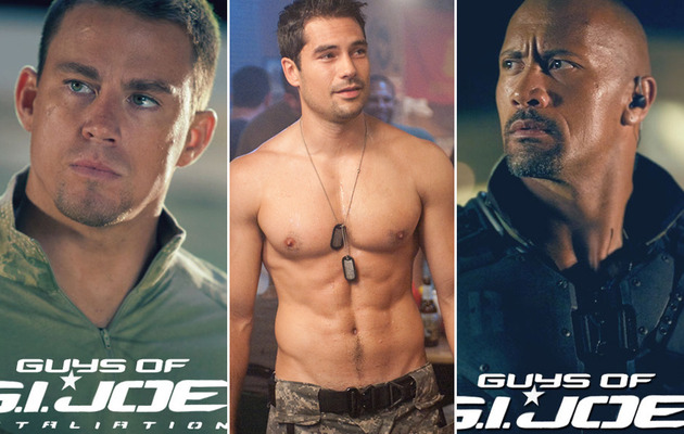 "Meet the Men of ""G.I. Joe: Retaliation"""