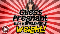 Kim Kardashian -- She Ain't Heavy ... She's a Mother (to-be)