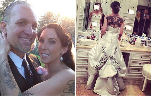 Jesse James Marries Drag Racer Alexis DeJoria