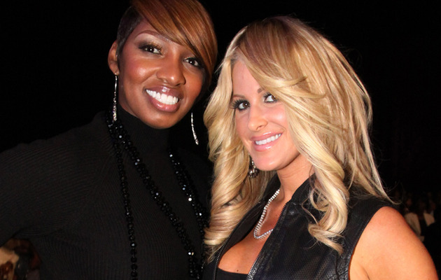 Unbe-weave-able! NeNe Leakes, Kim Zolciak Make Up!