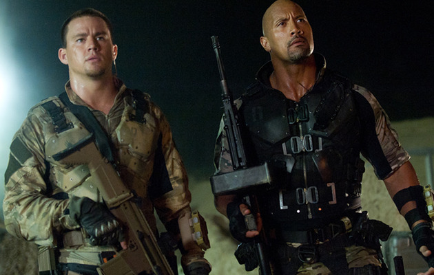 """G.I. Joe: Retaliation"" Review: The Rock Steals the Gun Show"