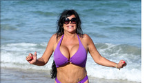 'Mob Wives' Star Big Ang -- BUSTED on Florida Beach