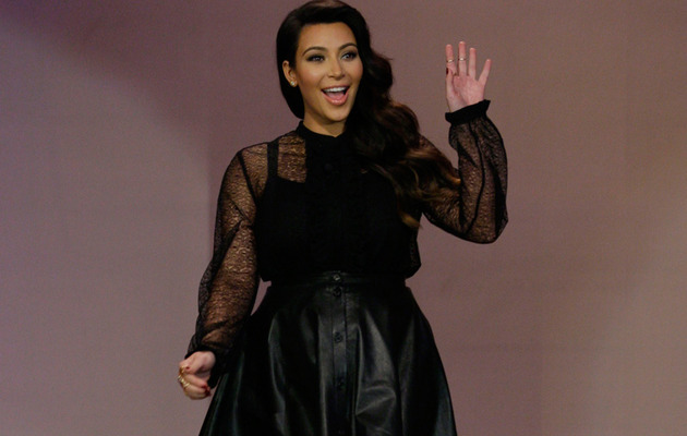 Kim Kardashian Talks Baby Names, Addresses Haters