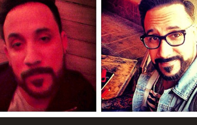 Backstreet Boys Singer A.J. McLean Shows Off New 'Do!