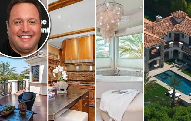 "EXCLUSIVE: Kevin James Selling Massive Mansion -- See ""King of Queens"" Star's…"