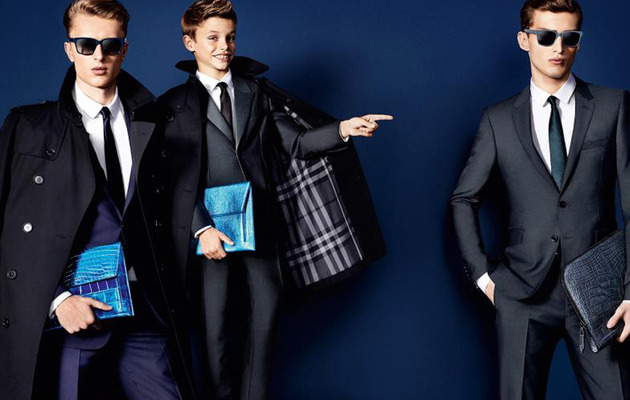 Romeo Beckham Still Stylish for Burberry