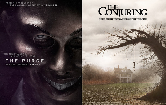 "Freaky Flicks: Trailers for ""The Conjuring"" and ""The Purge"""