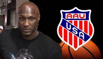 Lamar Odom -- AAU Basketball DENIES Receiving Any Charity Donations