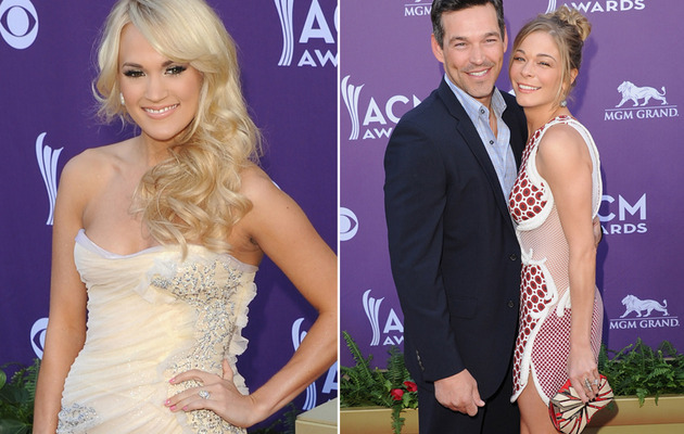 ACM Fashion Flashback -- Anything Goes on This Red Carpet!