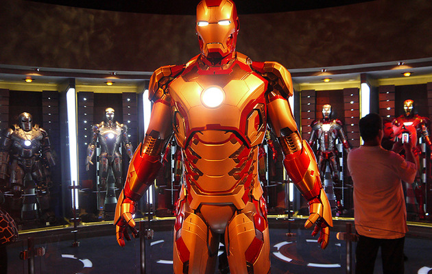 """Iron Man"" Invades Disneyland -- More Avengers to Follow?"
