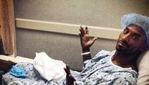 Kobe Bryant -- Getting Surgery, High on Pain Pills