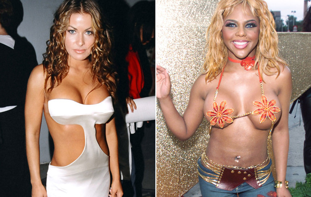The Worst Dressed Stars of MTV Movie Awards Past!
