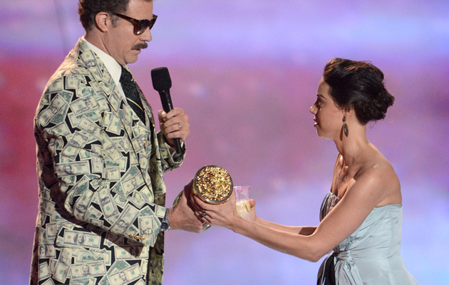 Aubrey Plaza Booted from MTV Movie Awards After Crashing Stage