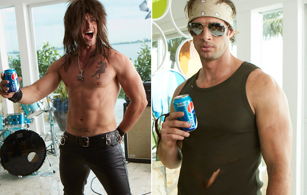 William Levy Is Sexy & Shirtless for Pepsi