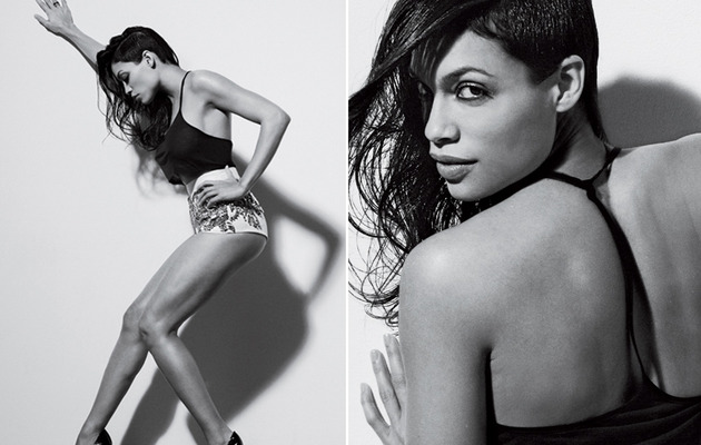 Rosario Dawson Shows Off Killer Legs in Esquire!