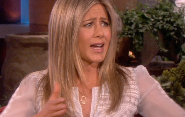 "Jennifer Aniston Talks ""Friends"" Reunion, Tries to Scare Ellen"