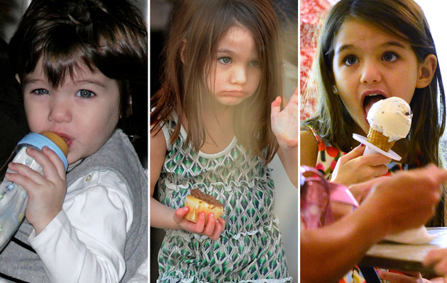 Suri Cruise Turns 7 -- See Her Cutest Moments!