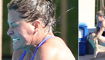 Nicole Eggert -- Hospitalized After Botched High-Dive