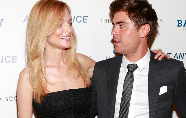 Zac Efron on Heather Graham Sex Scene Jitters!