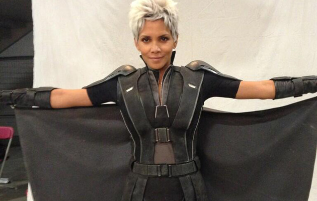 "First Look: Halle Berry as Storm in New ""X-Men"" Film"