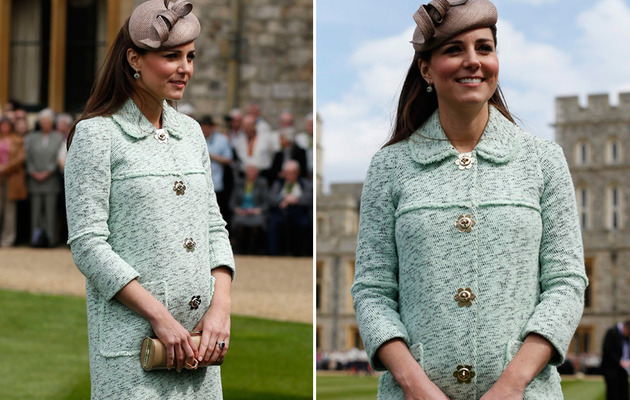Duchess Kate Bump: Kate Middleton Shows Off Baby Bump!