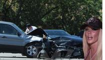 Kendra Wilkinson Car Accident -- PHOTOS