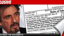Al Pacino -- Targeted By IRS Over $188k Debt