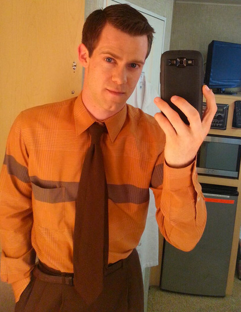 Bug Hall -- now 28 years old -- posted a selfie while on set of a Showtime show.