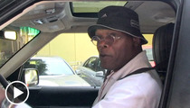 Samuel L. Jackson -- I'm Good, But the Best Celeb Golfer Is...