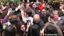 Harry Styles -- Nearly CRUSHED By Paris Mob