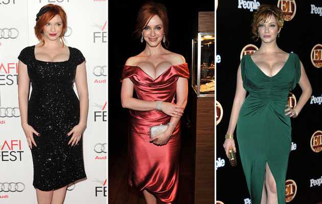 Christina Hendricks Turns 38 -- See Her Sexiest Shots!