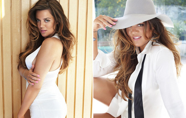 Khloe Kardashian Shows Off Bikini Bod, Reveals Favorite Sister