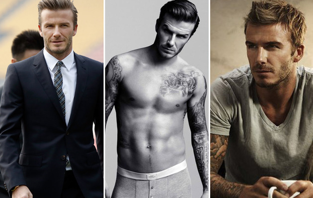 David Beckham Turns 38 -- See His Sexiest Shots!