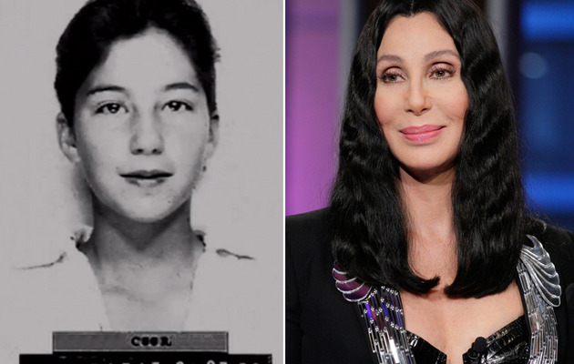 See Cher's Long-Lost Mug Shot from When She Was 13!