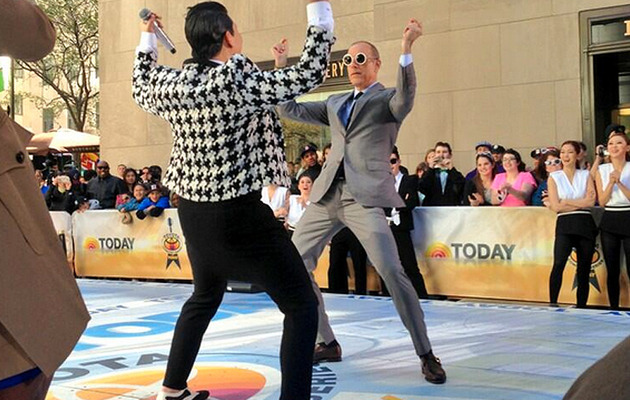 "Well This Is Embarrassing -- ""Today"" Show Anchors Dance to PSY"